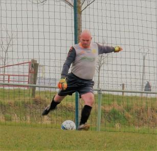 Onze senior keeper Wim